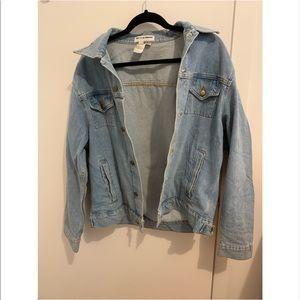 American Apparel Light Wash Jean Jacket